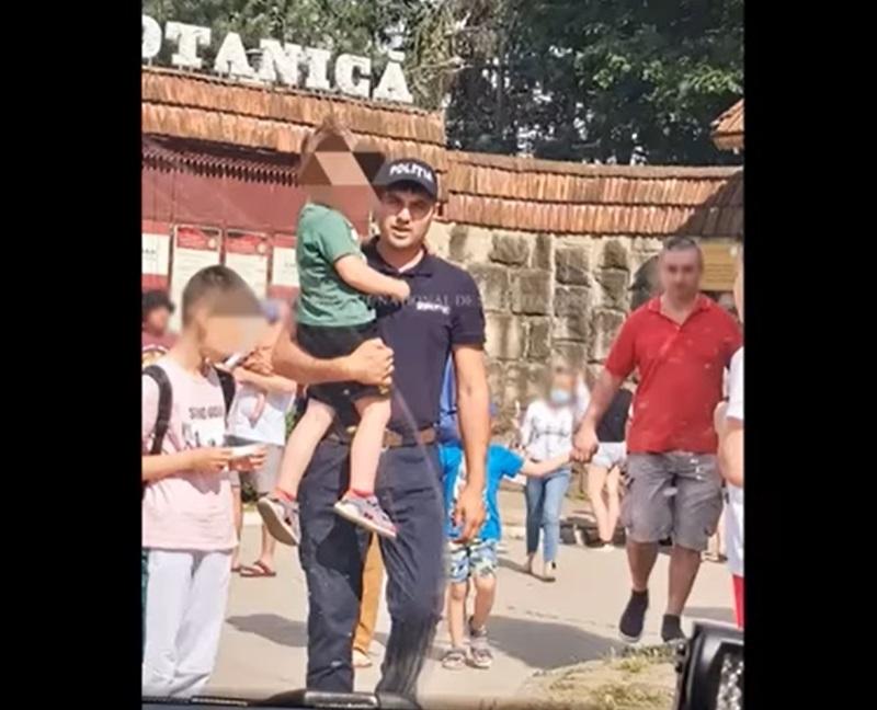 Отстал от родителей и потерялся в толпе: в парке на Ботанике нашли ребёнка (ВИДЕО)