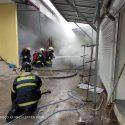 Пожар в Резине: загорелся местный рынок