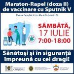 Завтра во Дворце Республики пройдёт марафон вакцинации второй дозой Sputnik V