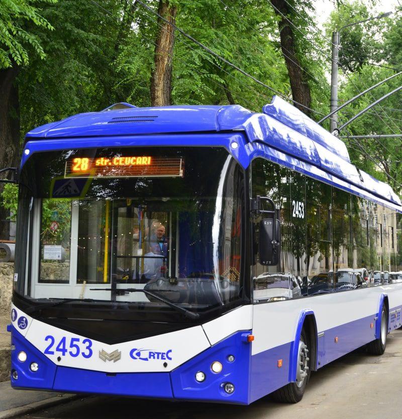 В столице запустили новый троллейбусный маршрут (ФОТО, ВИДЕО)