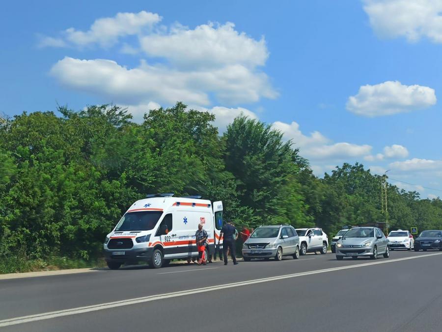 Наезд на пешехода в столице: пострадавший в тяжёлом состоянии