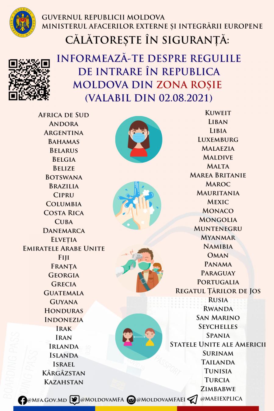 Минздрав обновил список стран, после приезда из которых необходимо соблюдать карантин (DOC)