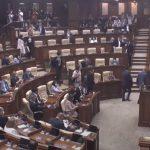 Переработались! Сразу после выступления Санду депутаты ПДС покинули заседание и сорвали кворум