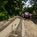 Возобновлены восстановительные работы на участке дороги на Московском проспекте