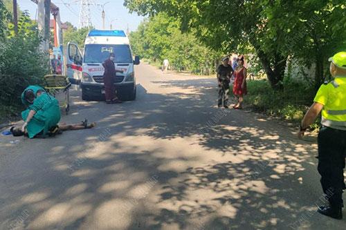 Смертельное ДТП: пешеход попал под колёса легковушки