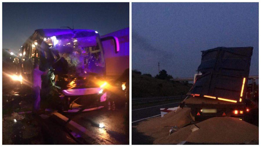 Автобус из Молдовы попал в аварию в Одесской области: есть погибший и пострадавшие