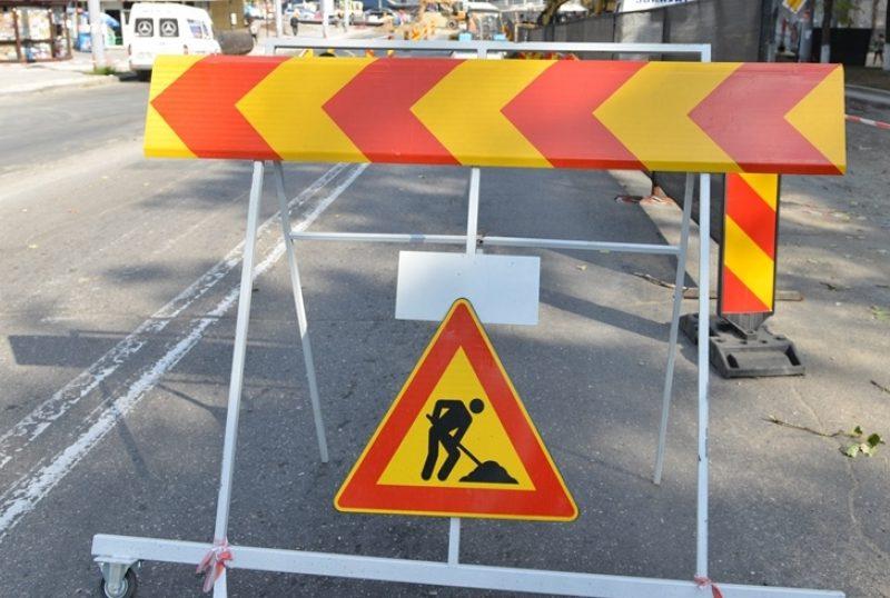 На некоторых улицах столицы приостановлено движение транспорта