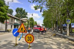 Участок улицы Иона Крянгэ в эти выходные перекрыт: транспорт перенаправят