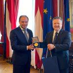Ион Чебан встретился в Вене с мэром австрийской столицы: Уверен, эта беседа принесёт пользу Кишинёву