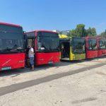 В Кишинёв доставлена ещё одна партия автобусов: вскоре они выйдут на маршруты