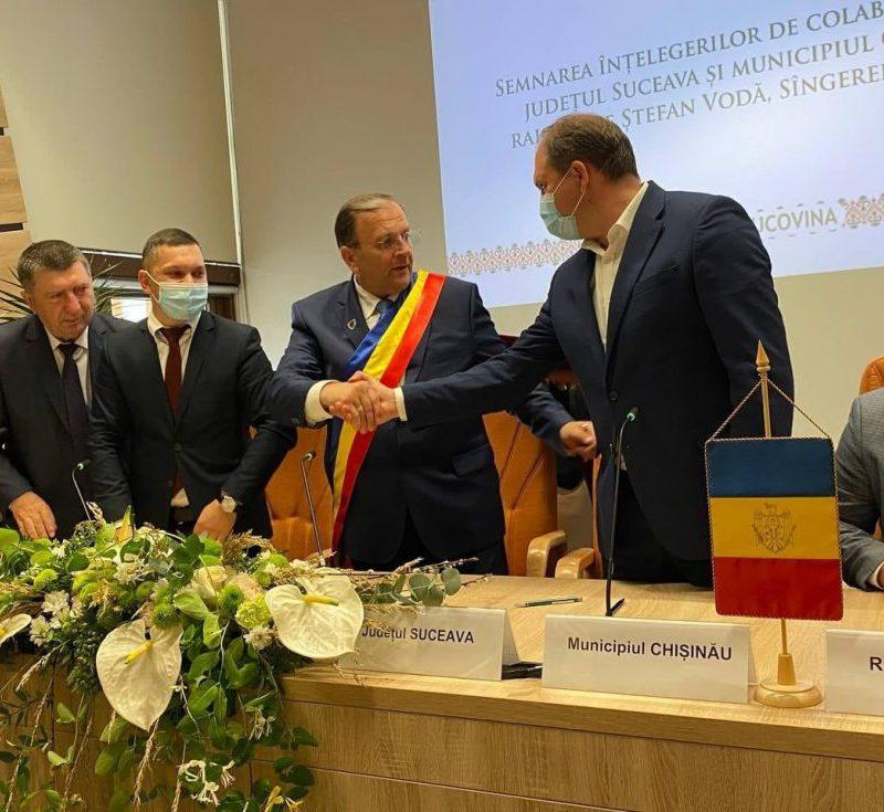 Мунсовет Кишинёва одобрил 3 соглашения о сотрудничестве и побратимстве с Румынией