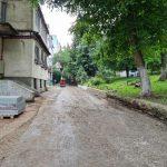 Ремонт дворов домов в столице идёт полным ходом (ФОТО)