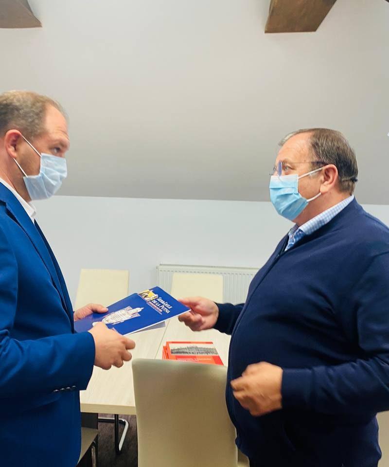 Ион Чебан пригласил главу уезда Сучава на инвестиционный форум в Кишинёве