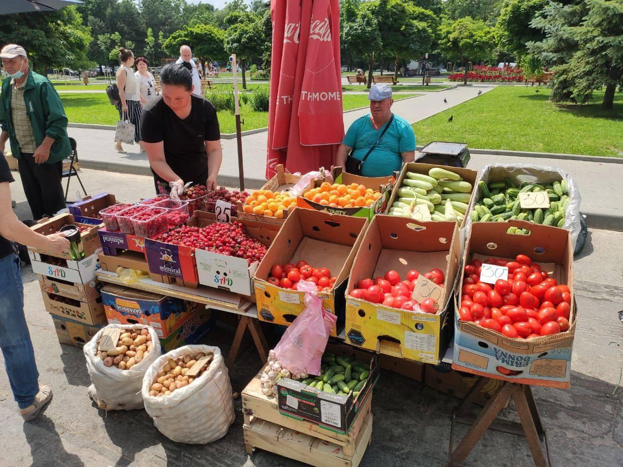 Генпримар: Фермеры смогут продавать свою продукцию на сезонных ярмарках в Кишинёве
