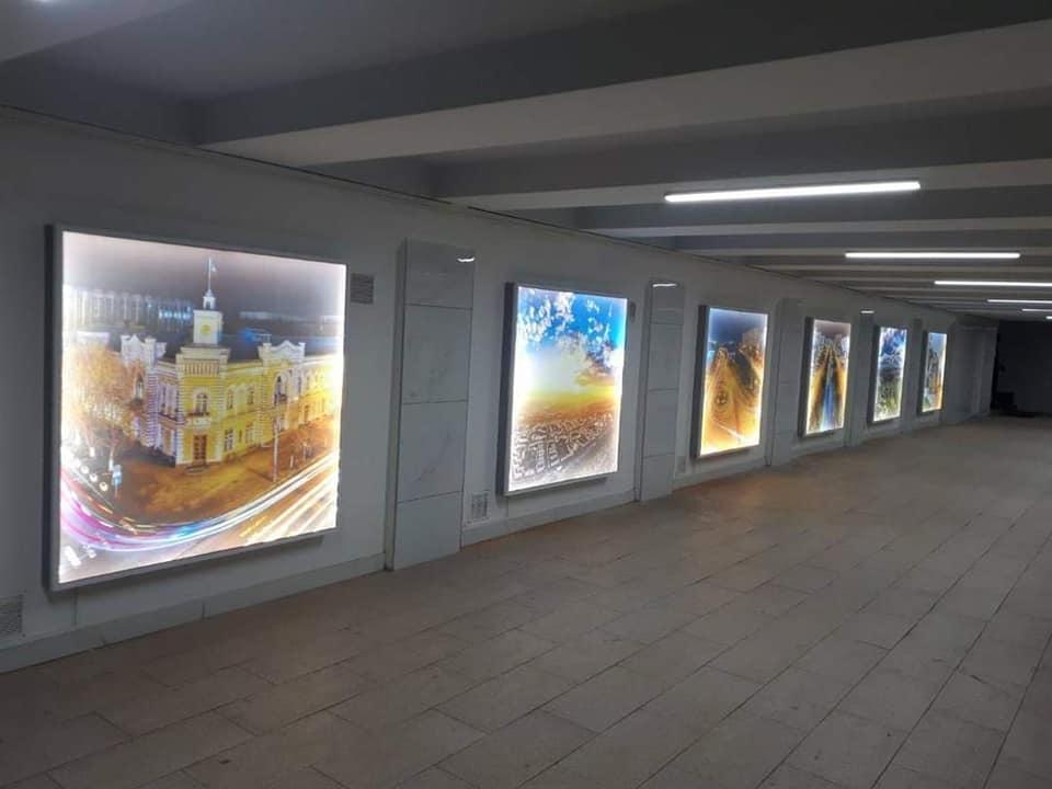Подземный переход на улице Алеку Руссо отремонтирован и благоустроен