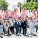 35 тысяч граждан со всей страны приняли участие в марше и митинге Блока коммунистов и социалистов