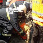 В Теленештах мужчину засыпало землёй: ему на помощь пришли спасатели
