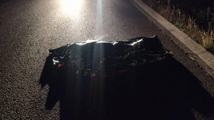 В Хынчештах водитель переехал лежавшего на дороге человека