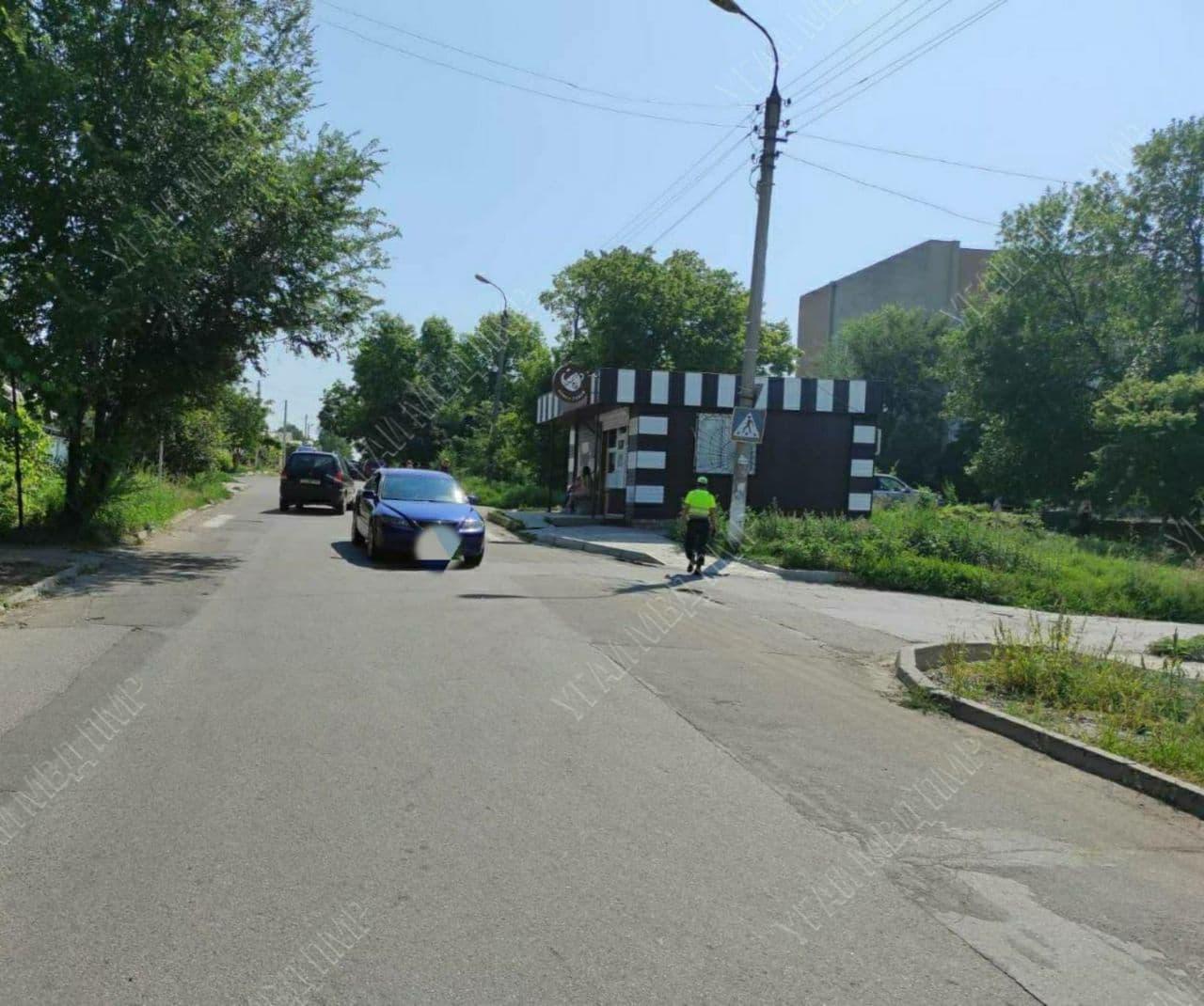 """ДТП на """"зебре"""" в Тирасполе: автоледи сбила пенсионера"""