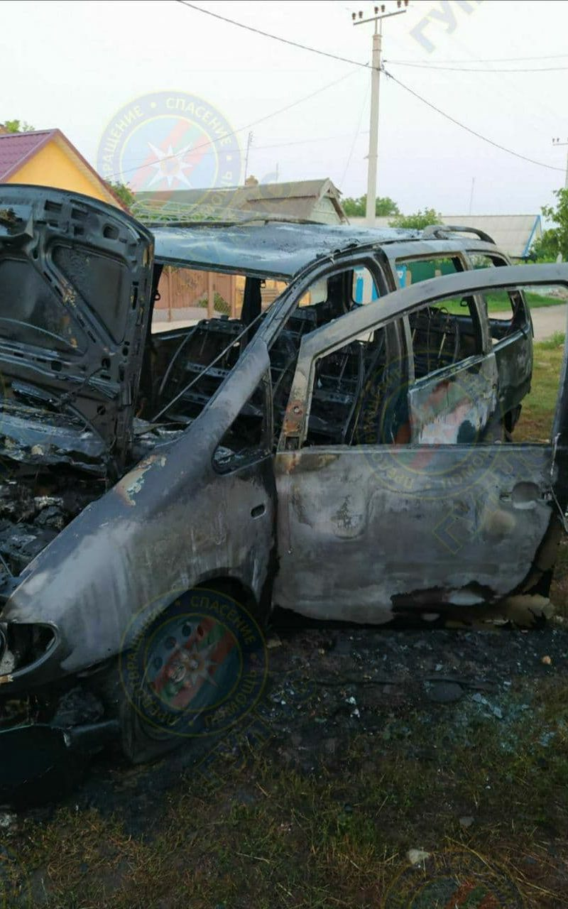 Причина – короткое замыкание: в результате пожара уничтожена машина
