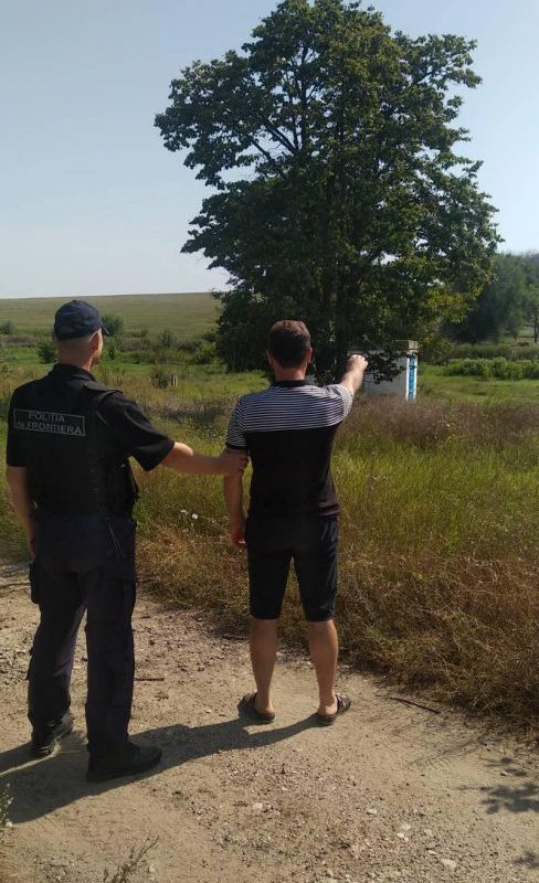 На границе поймали мужчину, который нелегально вернулся на родину