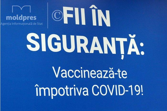 В Молдове вакцинировано более 15% населения