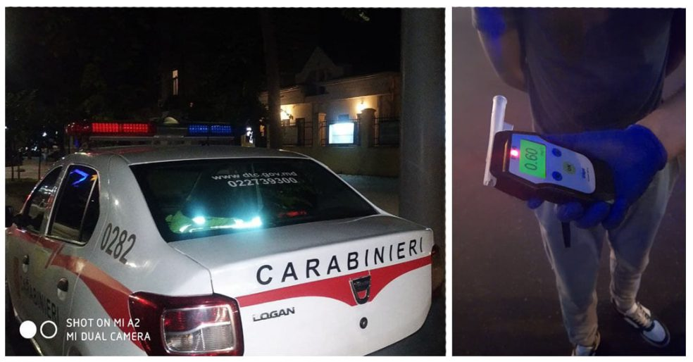 В столице пьяный водитель пытался сбежать от патруля