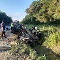 Жуткое ДТП на трассе Леушень – Кишинёв: водитель погиб, 4 человека в больнице (ФОТО)