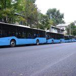 Ещё 5 новых автобусов марки ISUZU запускают в столице
