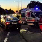 """Машины """"всмятку"""": в ДТП пострадала женщина-пассажир"""