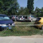 Пьяный водитель задел на парковке чужое авто и попытался уехать