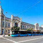 Пять новых автобусов ISUZU вышли на линии в Кишинёве