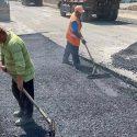 Ремонтные работы на улице Виссариона Белинского выполнены на 65%