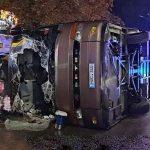 Автобус с гражданами Молдовы попал в аварию в Киеве: пострадали 18 человек