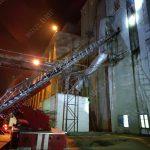 Крупный пожар в Бендерах: загорелся один из элеваторов на хлебокомбинате