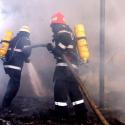 В многоэтажке в столице вспыхнул пожар: четырёх человек эвакуировали (ФОТО)
