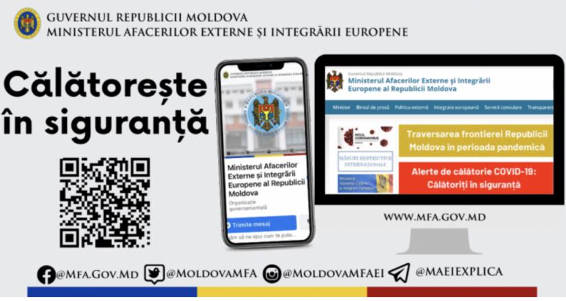 МИДЕИ: обновлены правила въезда в другие страны для граждан Молдовы