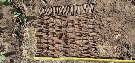 Более 300 боеприпасов были обнаружены в приграничной зоне в Унгенах