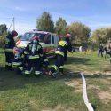 Молдавские спасатели участвуют в полевых учениях в Украине