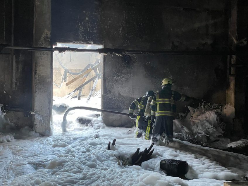 В столице загорелся склад игрушек (ФОТО)