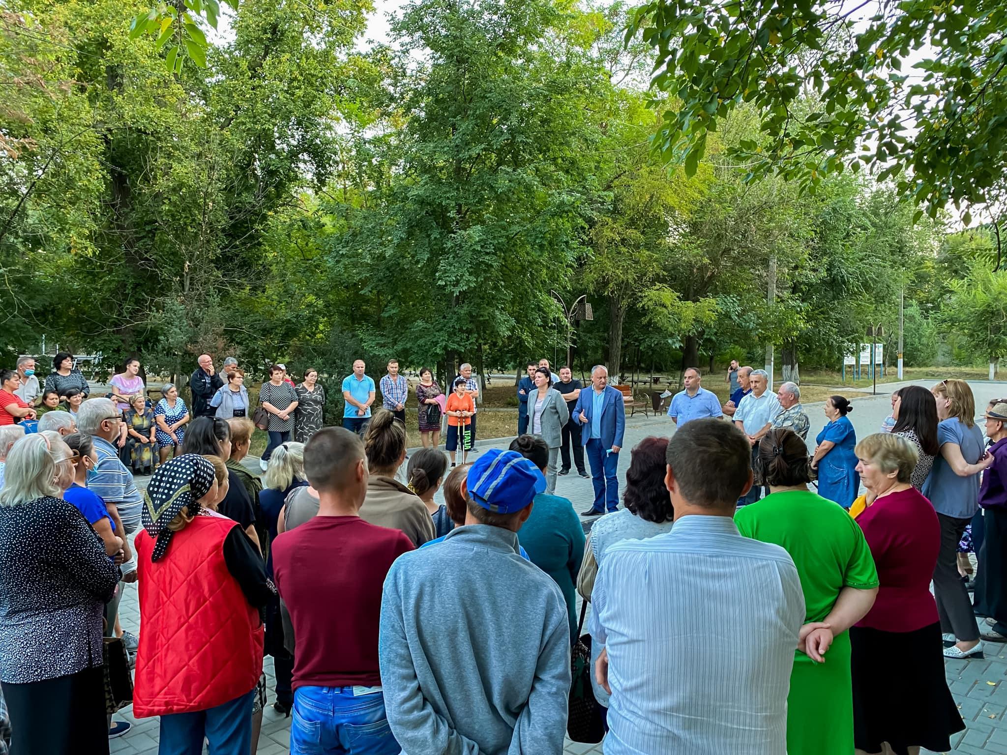Додон: Победа в Гагаузии кандидатов от Блока коммунистов и социалистов гарантирует преемственность нашего курса на укрепление социальных гарантий населению (ФОТО)