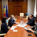 Батрынча на встрече с послом Франции: Юстиция должна не подчиняться кому-то, а защищать весь народ!
