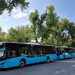 По улицам Кишинёва начали ездить ещё 5 новых автобусов ISUZU
