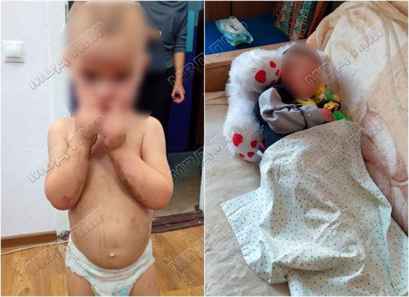 В шаге от трагедии: оставленный без присмотра малыш гулял в одном подгузнике по проезжей части