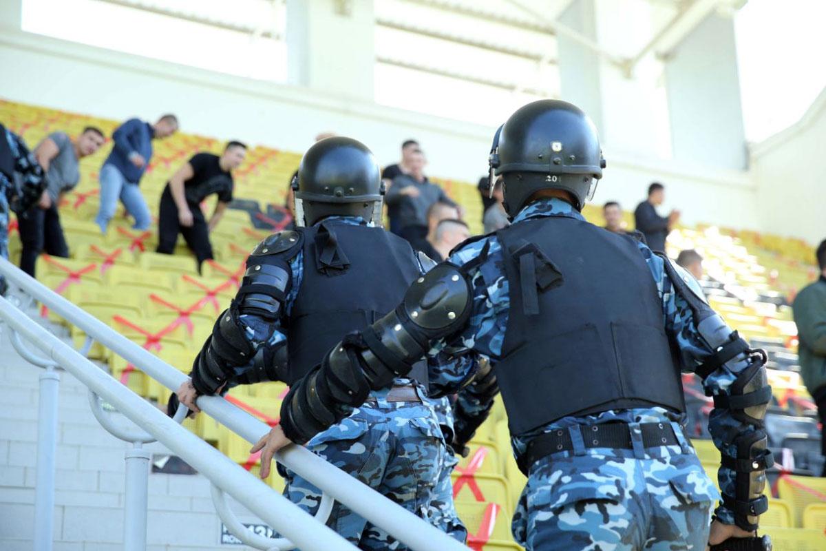 В Тирасполе полным ходом готовятся к матчу «Шериф»-«Шахтёр»