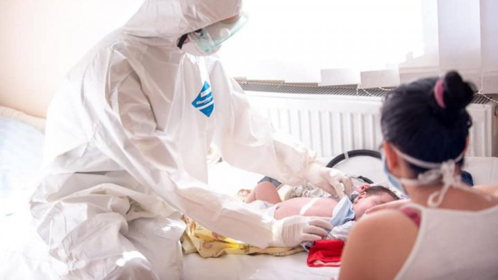 В столичной больнице открыли новое ковид-отделение для детей