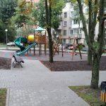 Обустроена новая детская площадка в сквере на улице Академической