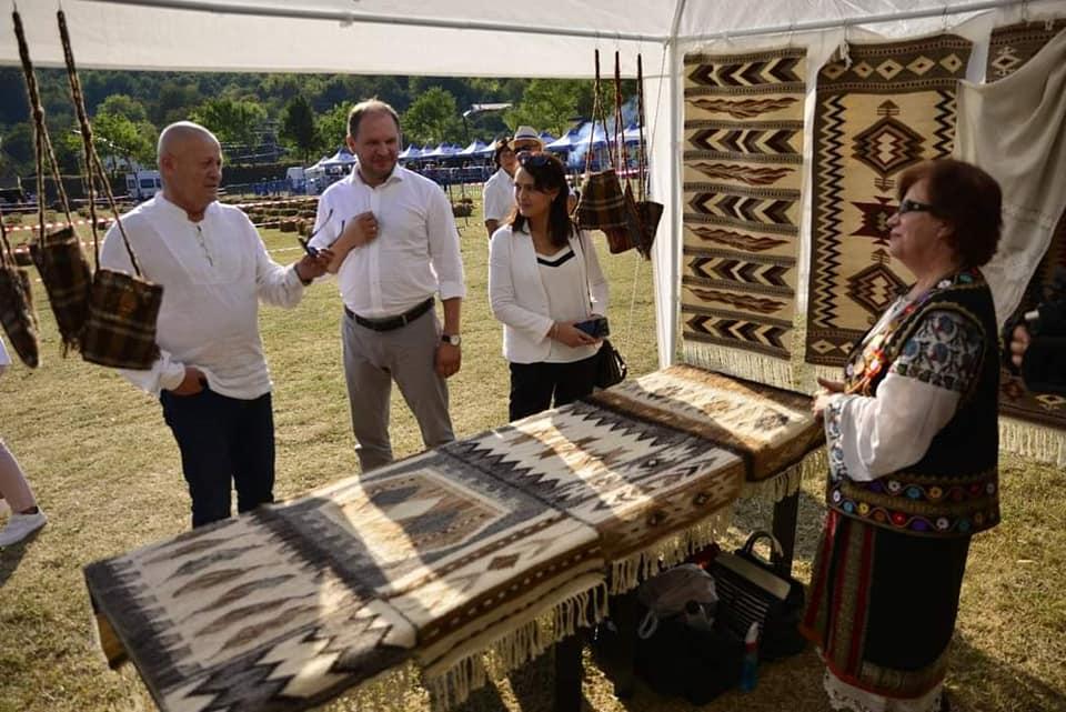 Генпримар на фестивале «Дни Кишинёва в Бузэу»: Рад, что нам удалось привезти частичку культуры из нашей столицы