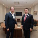 Ион Чебан на встрече с мэром Казани: Одно из направлений нашего будущего сотрудничества – «Умный город»