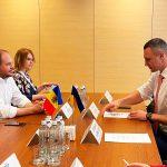 Ион Чебан в Киеве обсудил с Виталием Кличко сотрудничество между двумя столицами